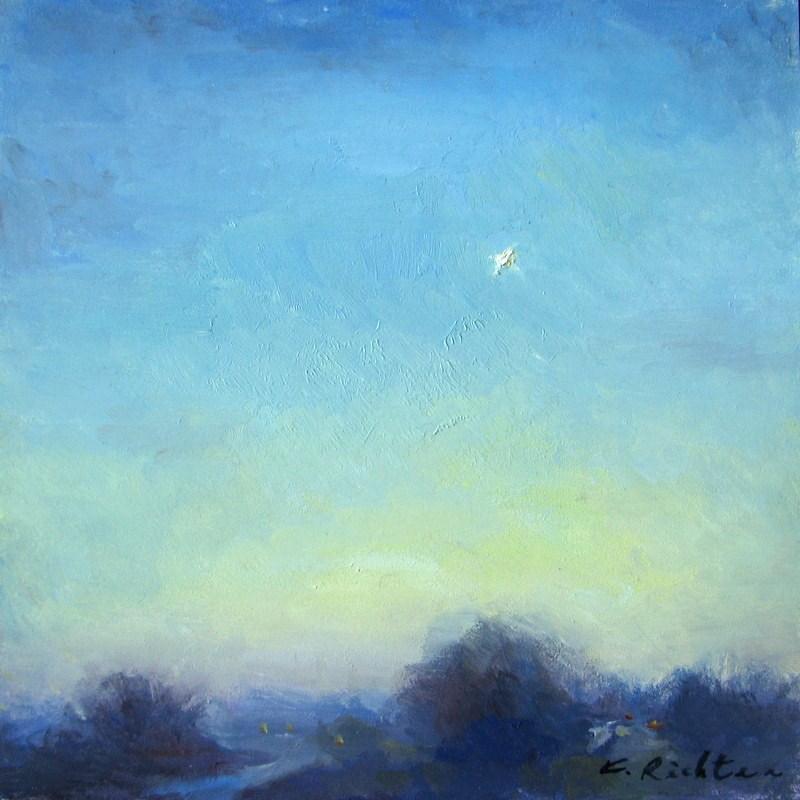 """Evening Star"" original fine art by Keiko Richter"