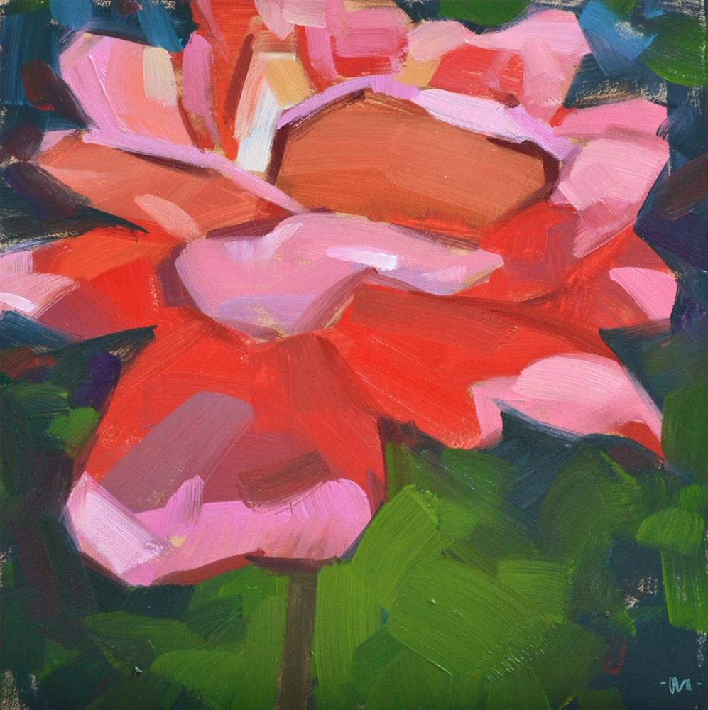 """Your Rosiness"" original fine art by Carol Marine"