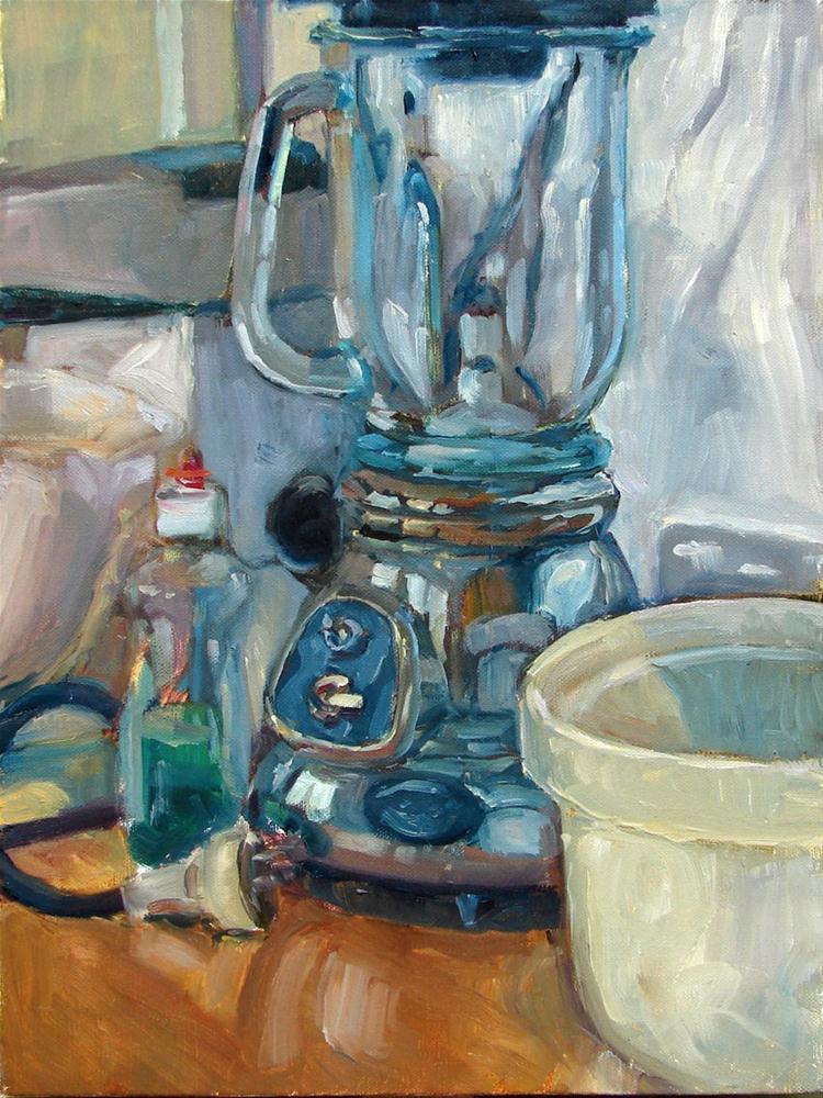 """""""Kitchen monument"""" original fine art by Myriam Kin-Yee"""