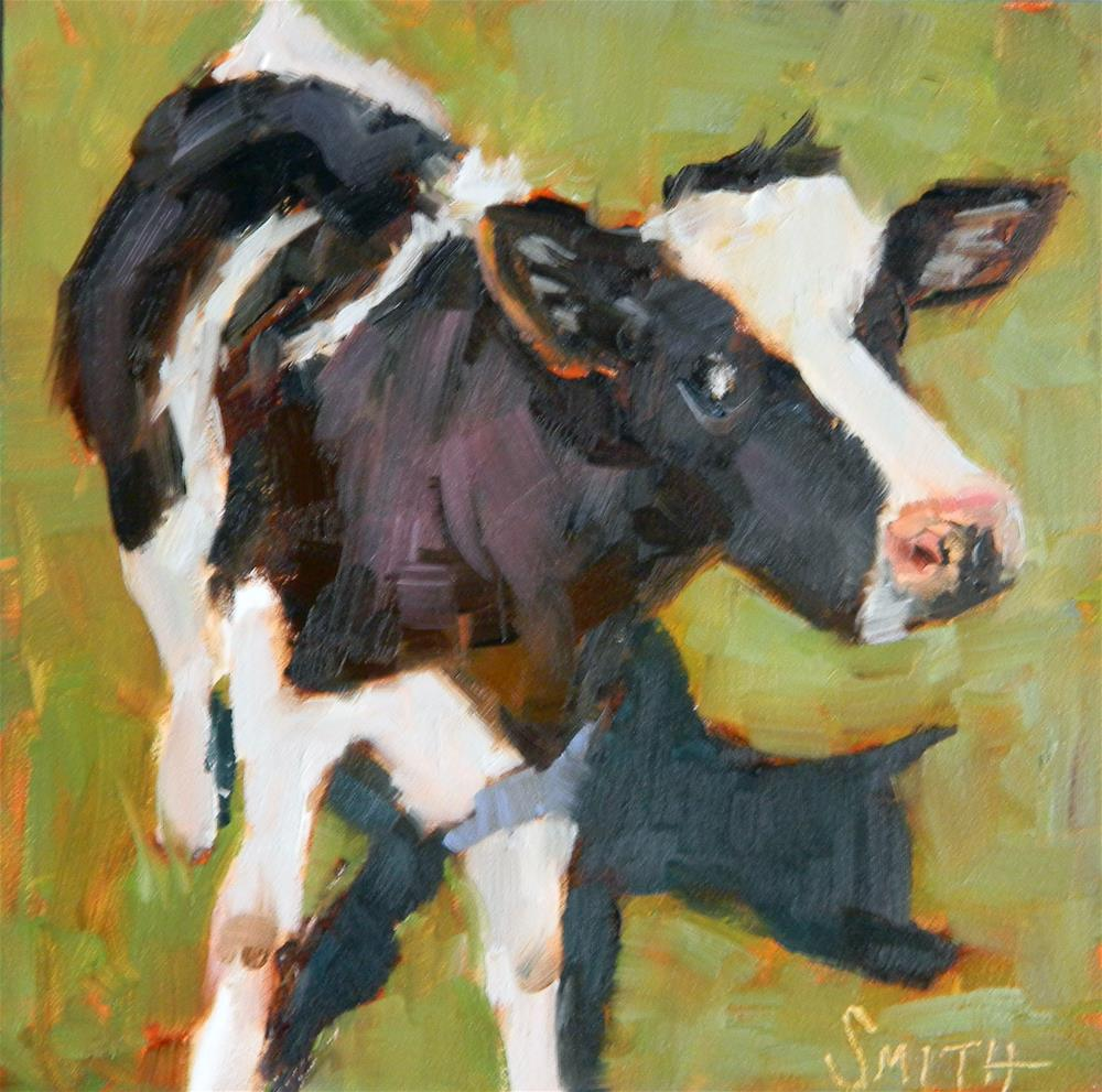 """Me and My Shadow"" original fine art by Barbie Smith"