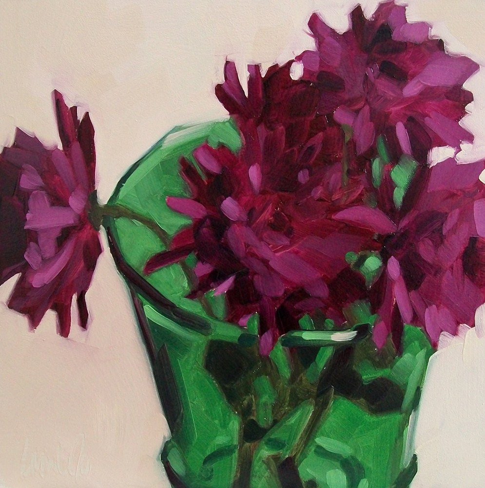 """Green vase"" original fine art by Brandi Bowman"