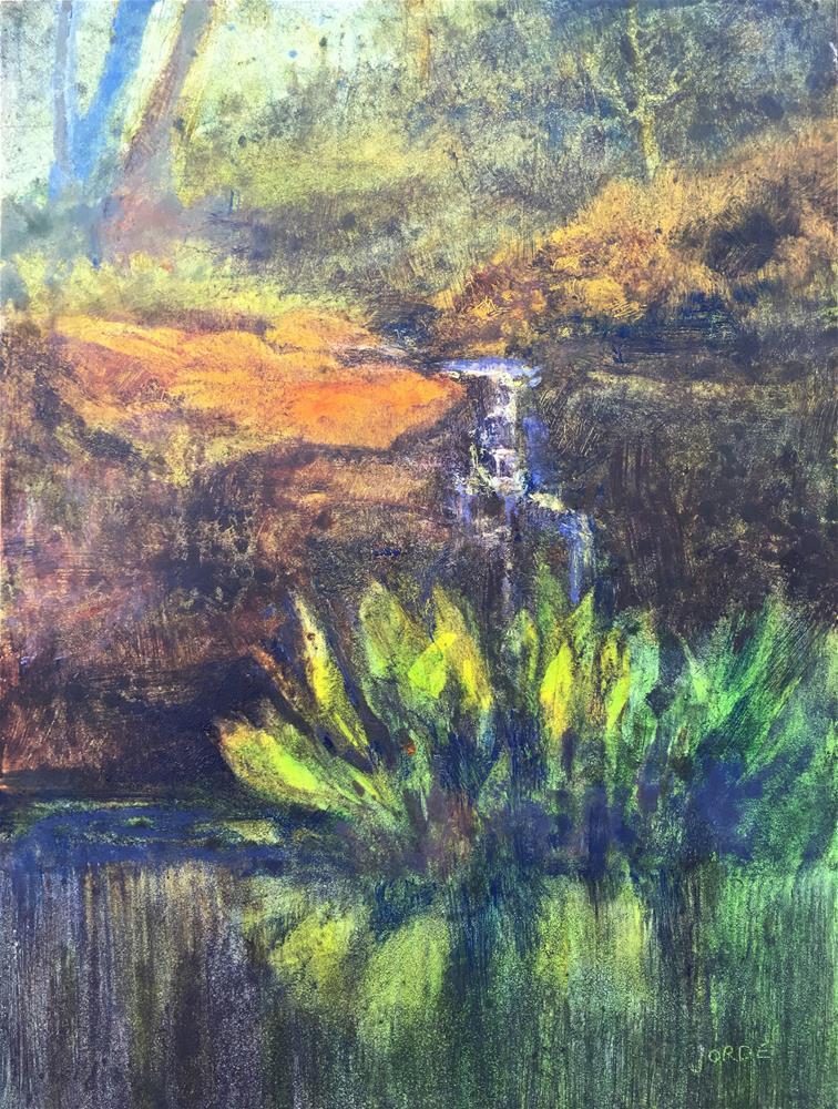 """""""Garden Spring"""" original fine art by Robyn Jorde"""