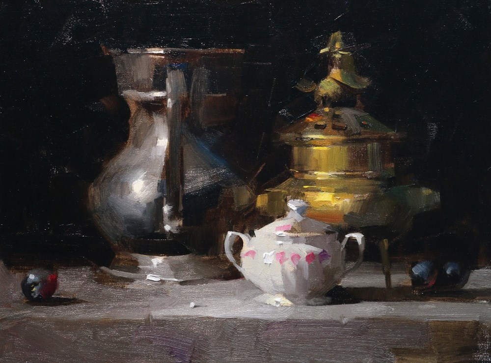 """""""Demo at Lafayette 2014 2 --- Sold"""" original fine art by Qiang Huang"""