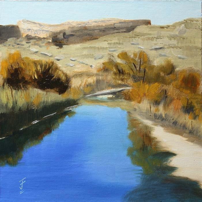 """Salt Wash II - Arches National Park"" original fine art by Jane Frederick"