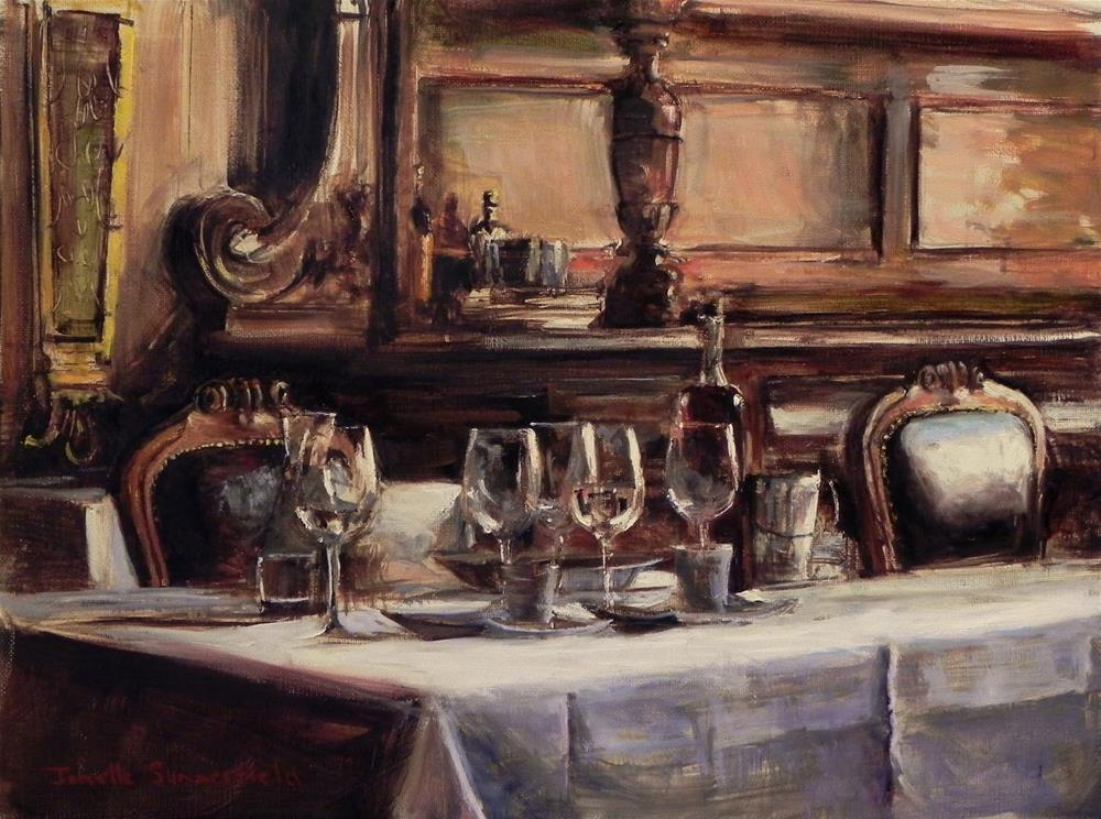 """Lunchtime"" original fine art by Jonelle Summerfield"