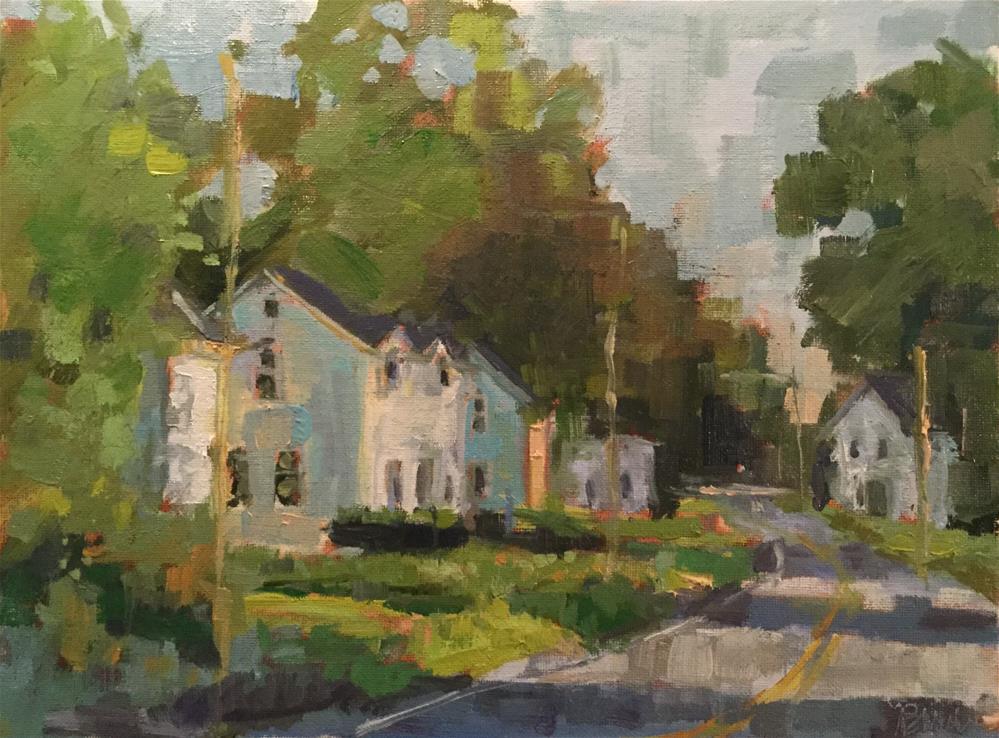 """Sunny Drive"" original fine art by Barb Walker"