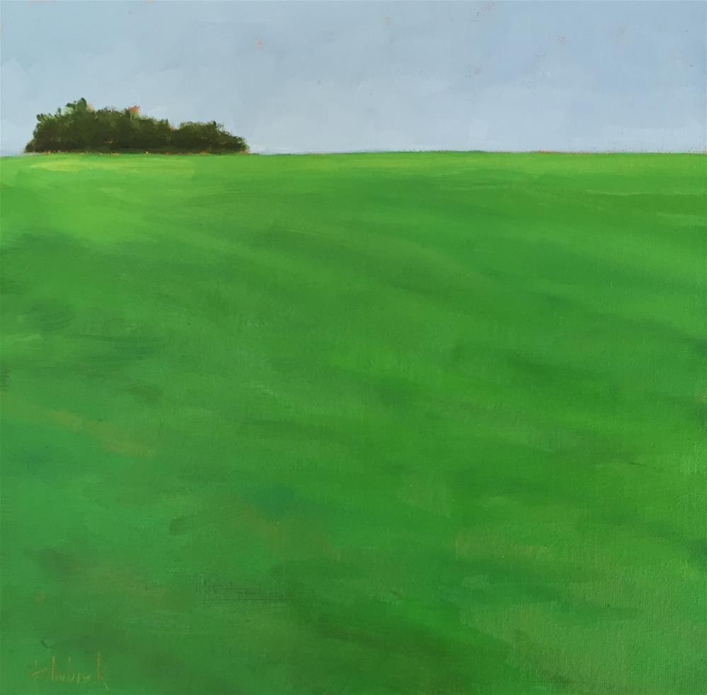 """""""Vast & Quiet"""" original fine art by Pam Holnback"""
