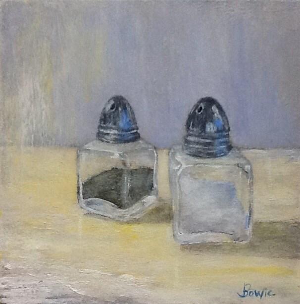 """Yin and Yang"" original fine art by Maureen Bowie"