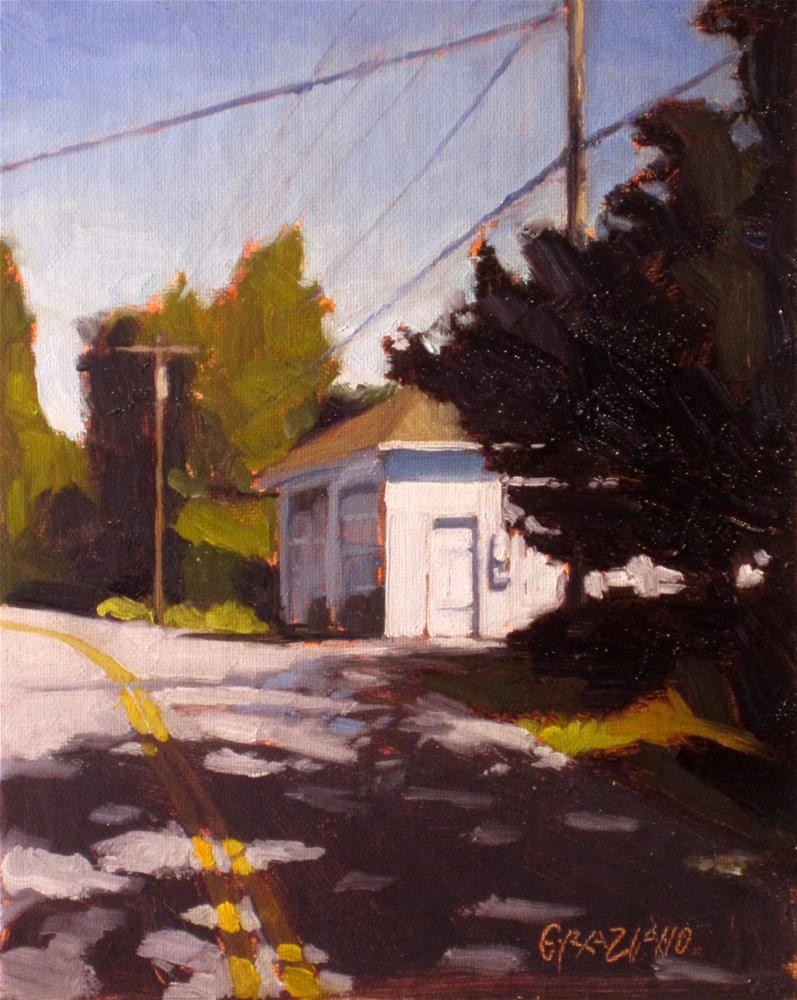 """""""closed for the afternoon"""" original fine art by Dan Graziano"""