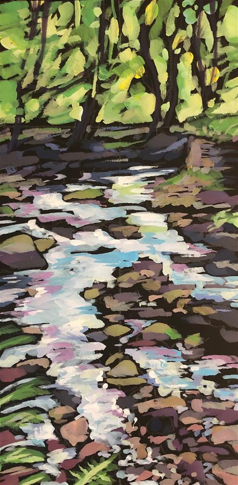 """Hedben Beck"" original fine art by Kat Corrigan"