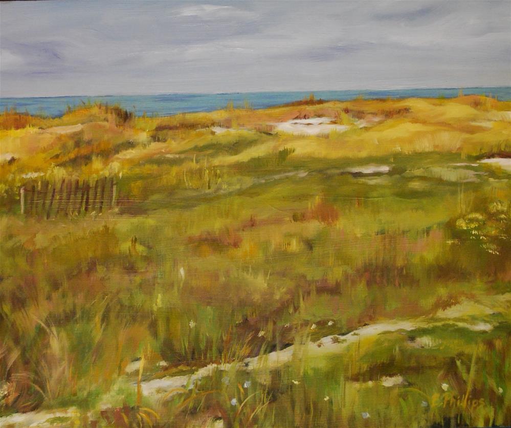 """Mexico Beach"" original fine art by Beverley Phillips"