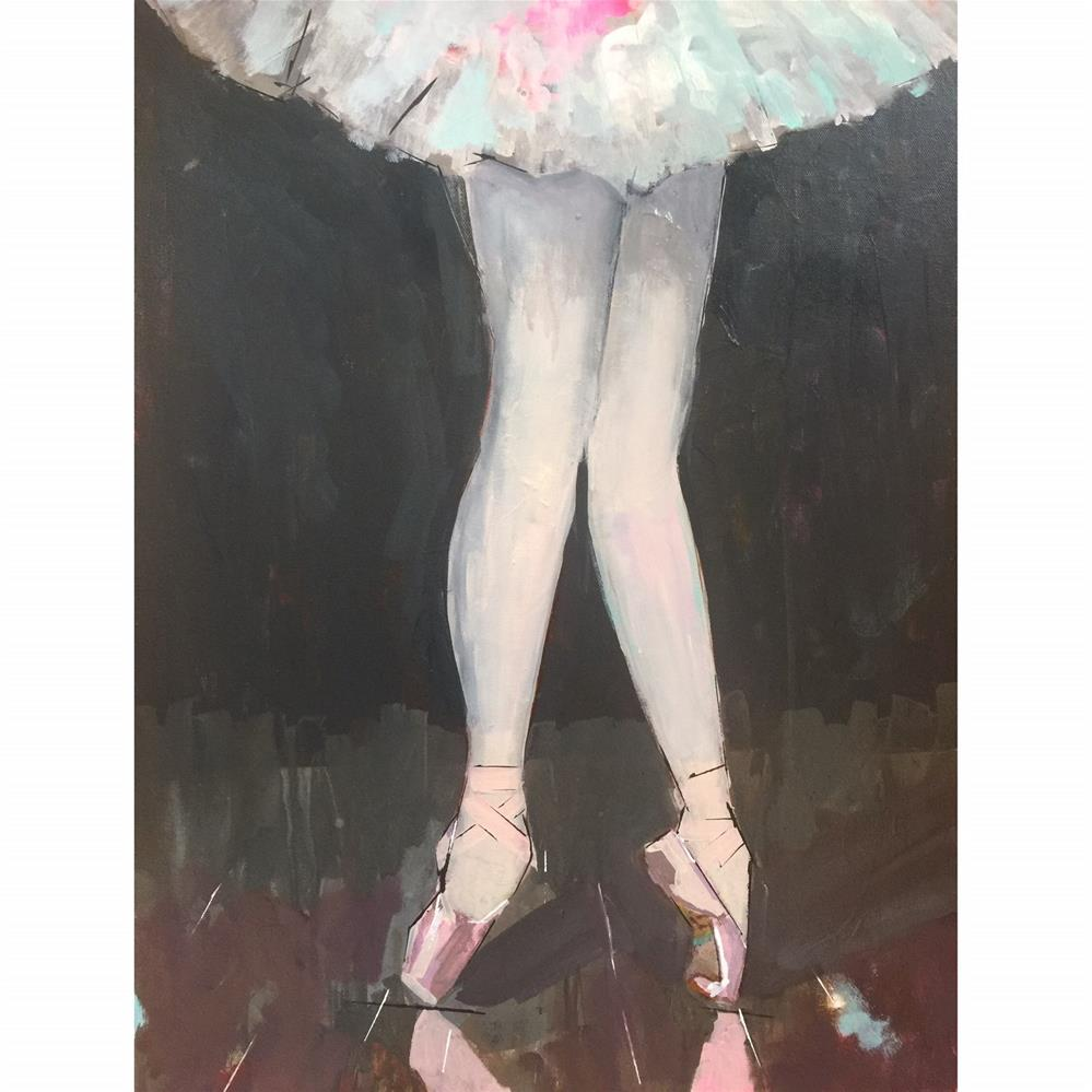 """555 On Pointe"" original fine art by Jenny Doh"