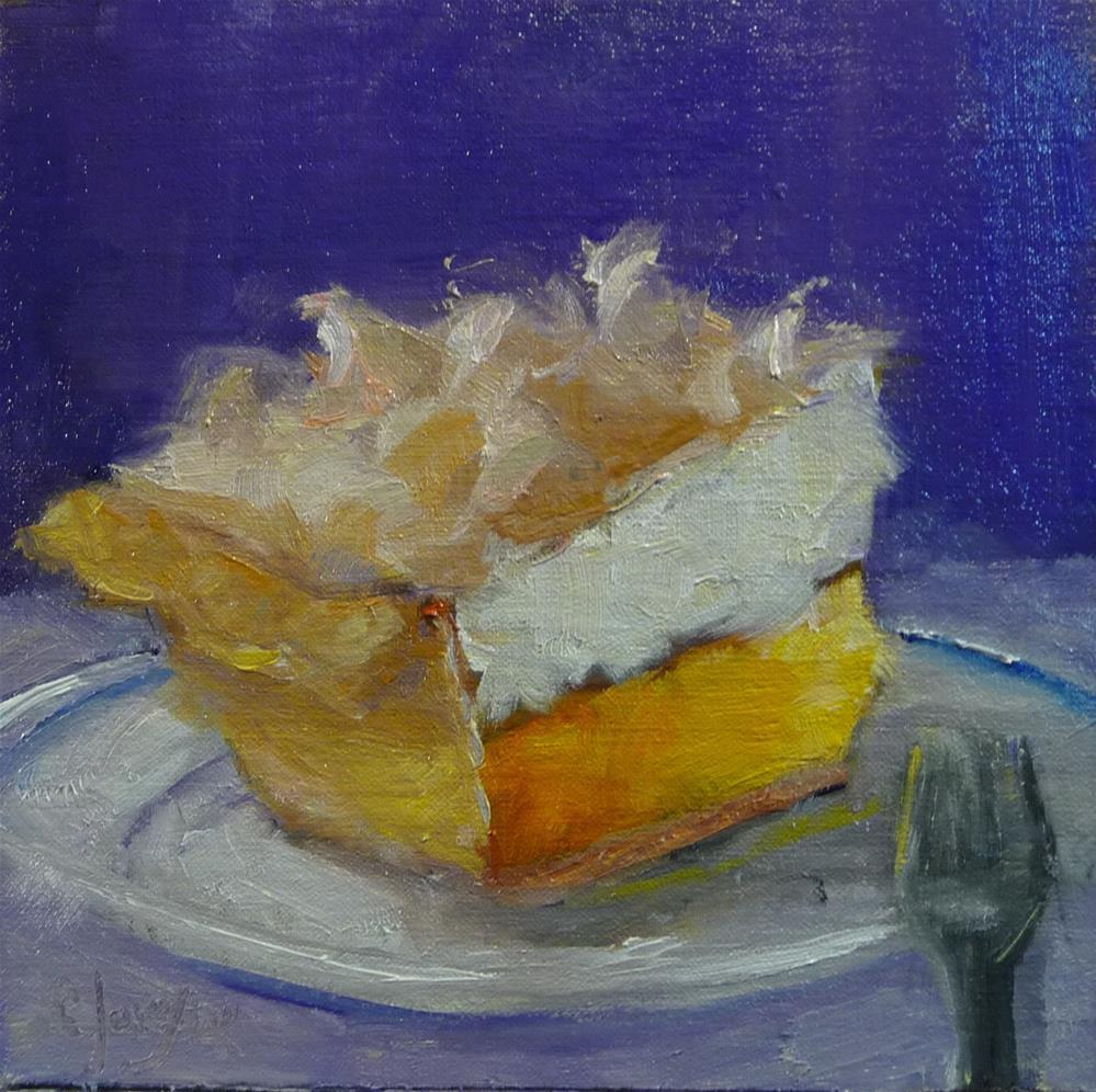 """Lemon Meringue"" original fine art by Carol Josefiak"