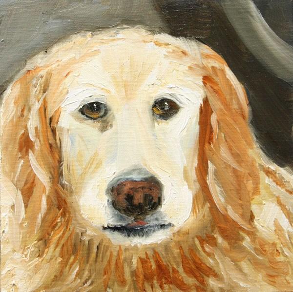 """""""Golden"""" original fine art by Jane Frederick"""
