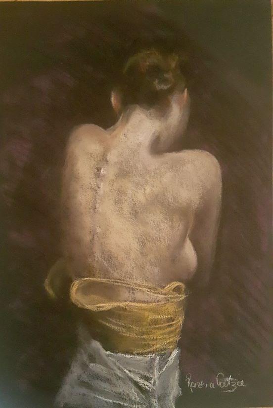 """Skin"" original fine art by Rentia Coetzee"