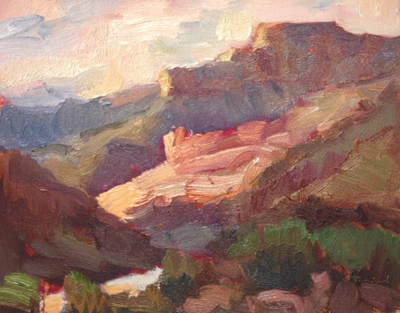 """Grand Canyon Sketch 3"" original fine art by Kathryn Townsend"