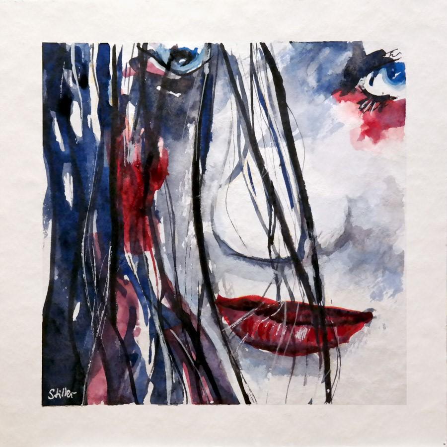 """""""3017 Curious 05"""" original fine art by Dietmar Stiller"""