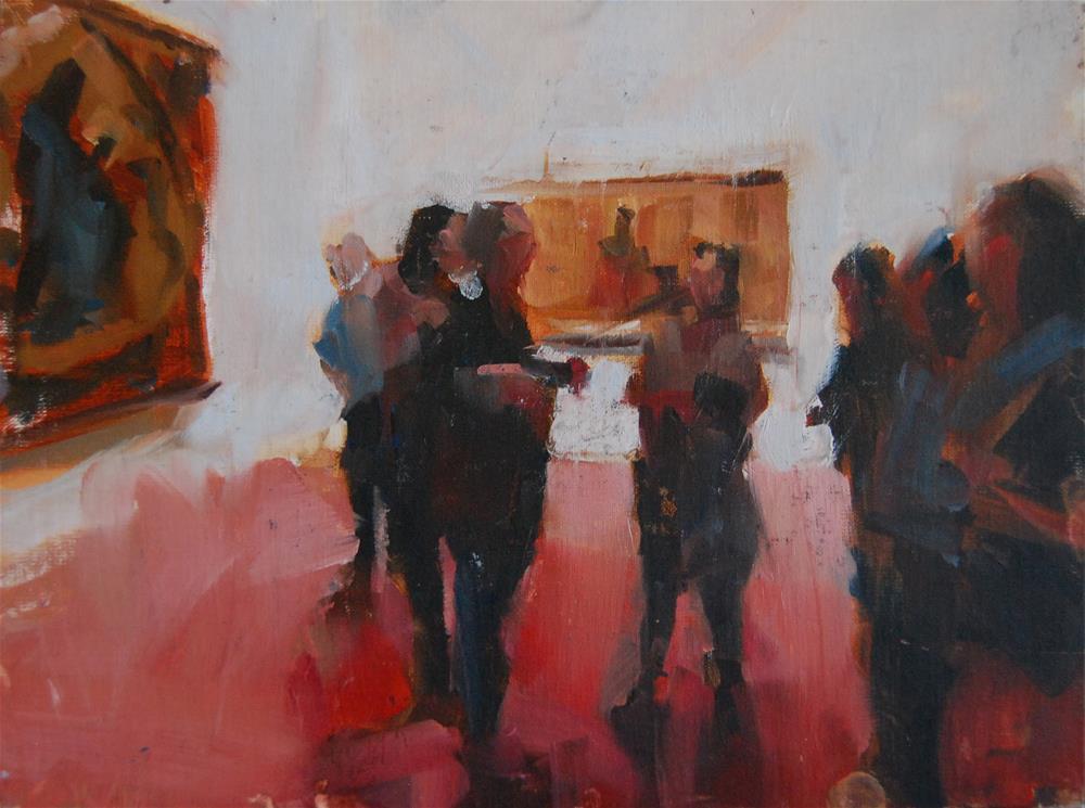 """The Guide"" original fine art by Margaret Dyer"