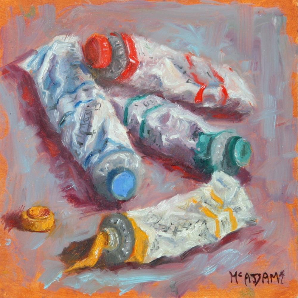 """Primary Colors"" original fine art by Phyllis McAdams"