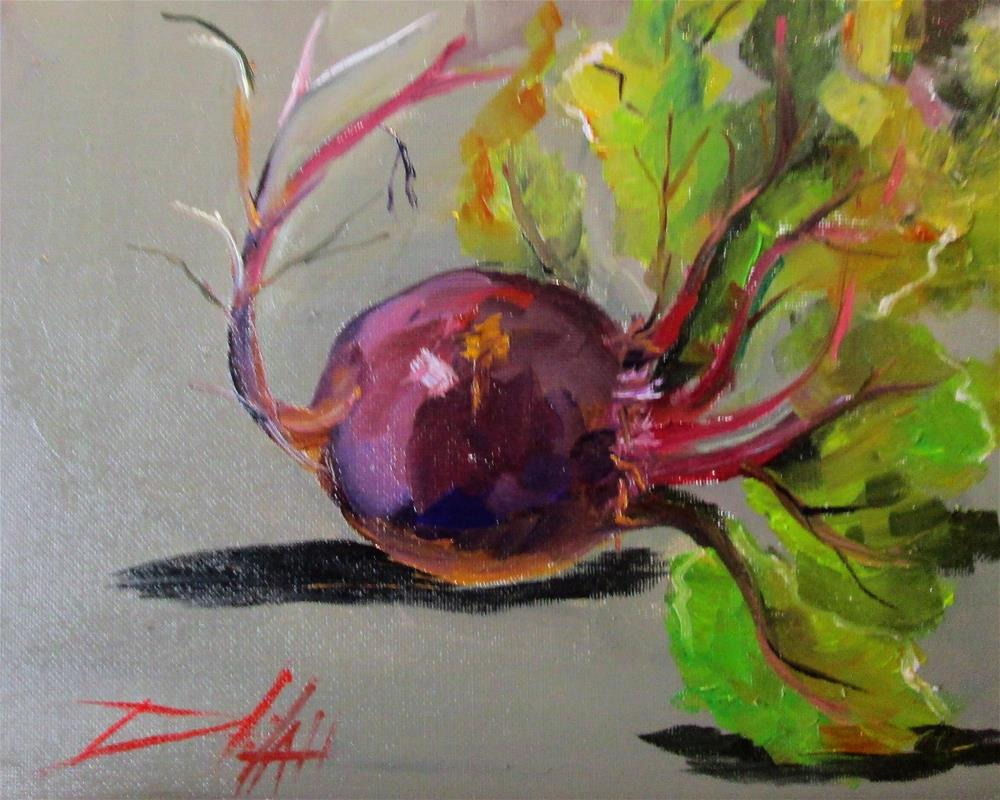 """Beets"" original fine art by Delilah Smith"