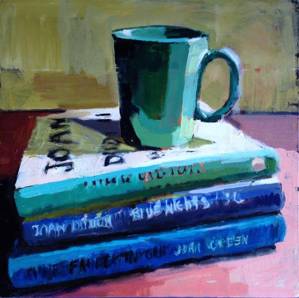 """Joan and John"" original fine art by Pamela Hoffmeister"