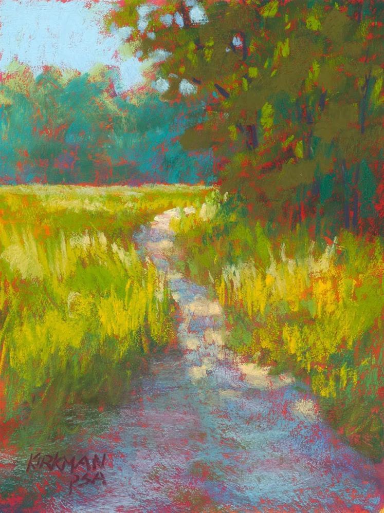 """""""Park Trail #34"""" original fine art by Rita Kirkman"""