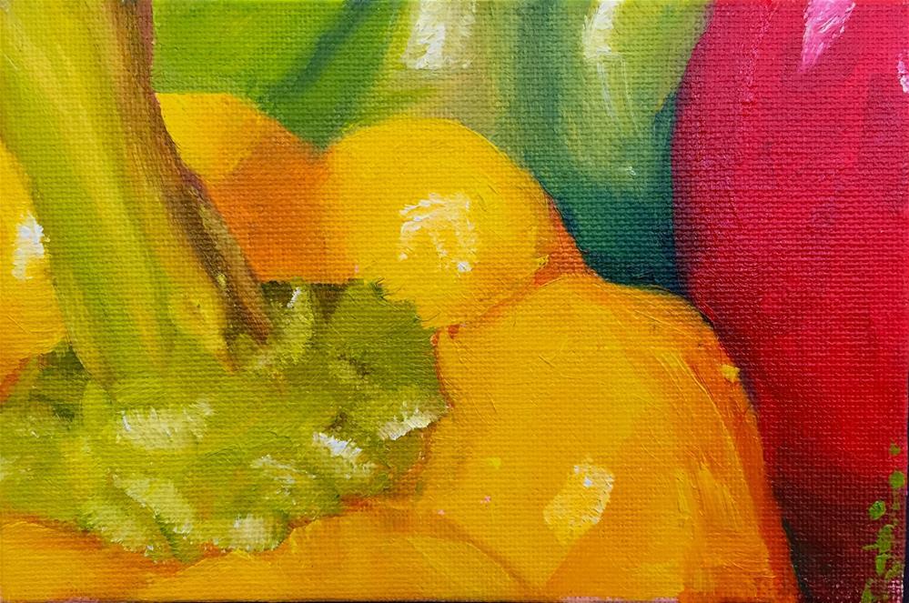 """Color Study"" original fine art by Renee Robison"