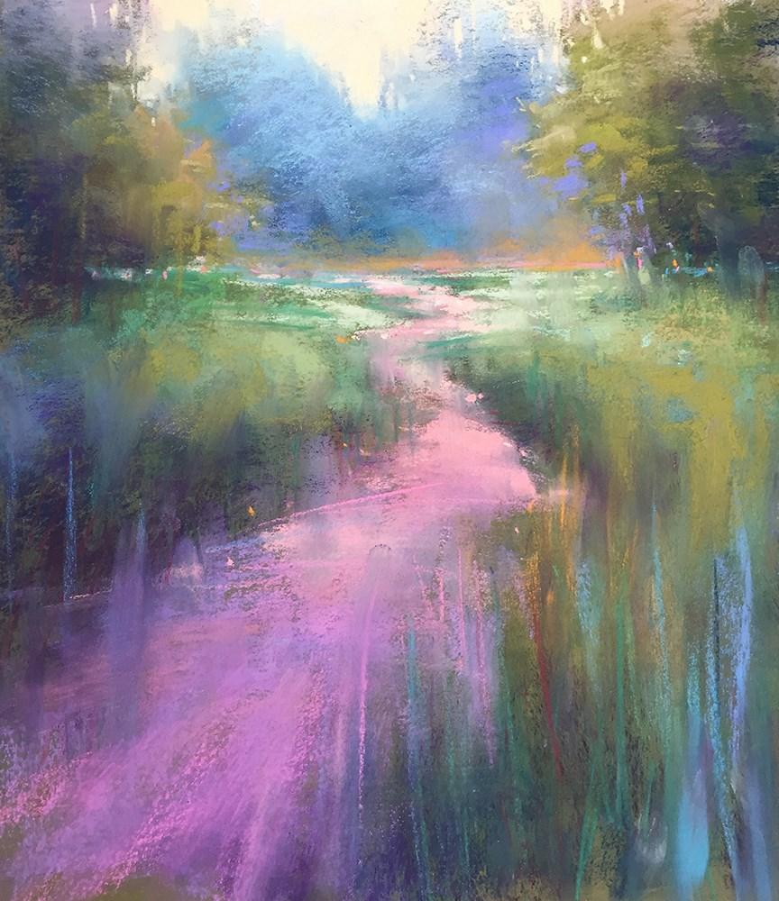 """Love of Green"" original fine art by Marla Baggetta"
