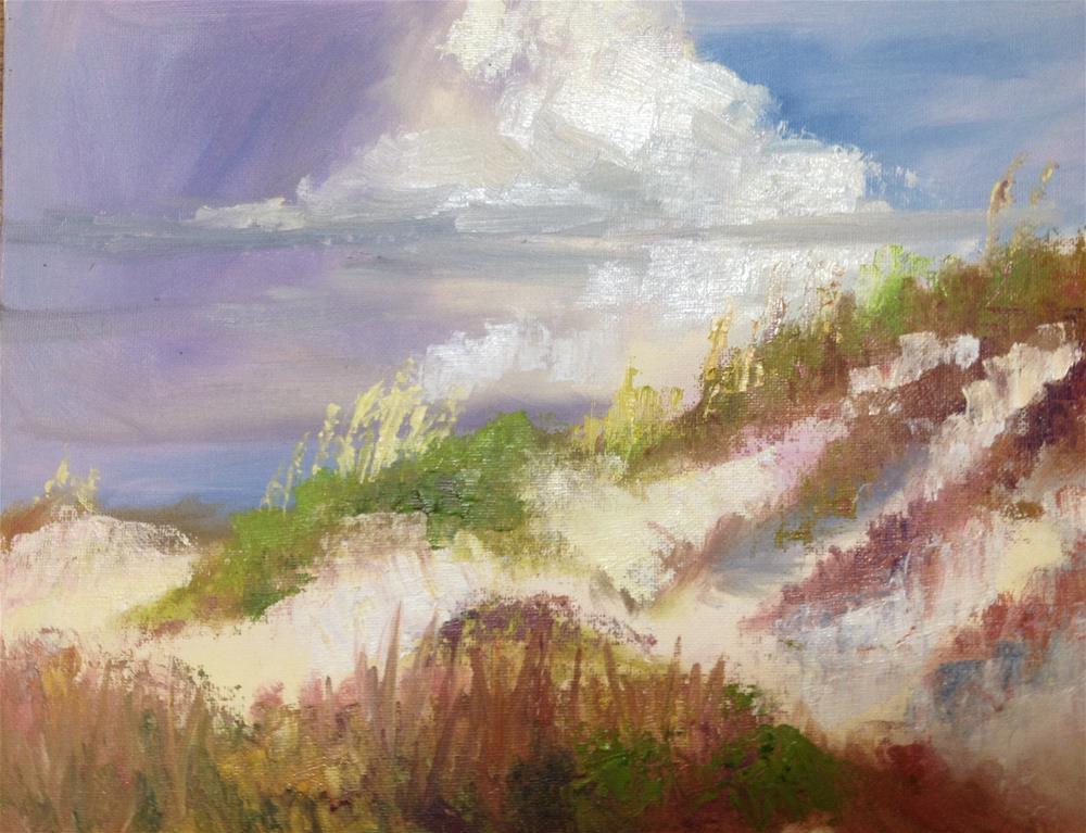 """Dauphin Island Dunes"" original fine art by Carol Roark"