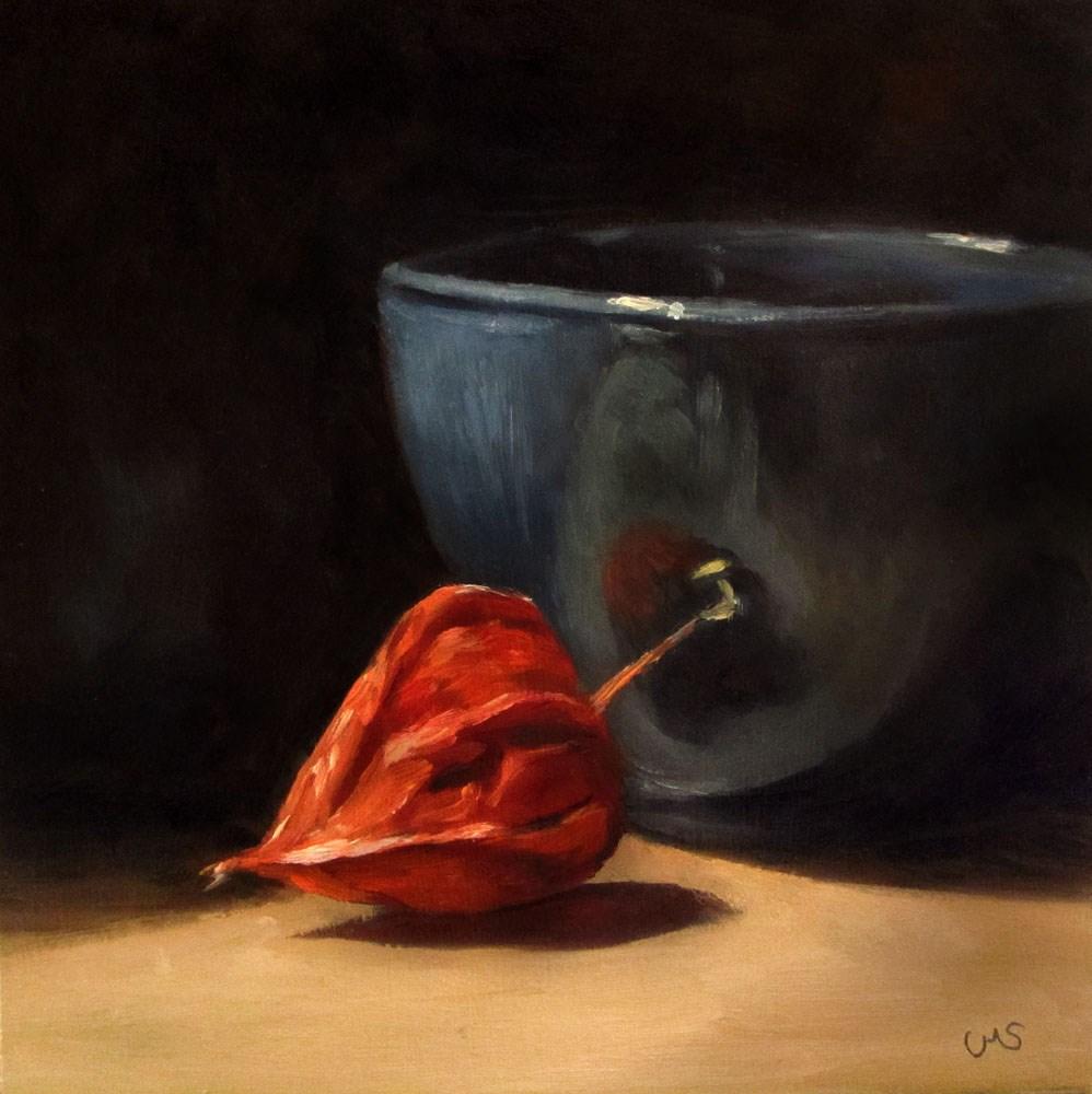 """Winter Cherry"" original fine art by Ulrike Miesen-Schuermann"