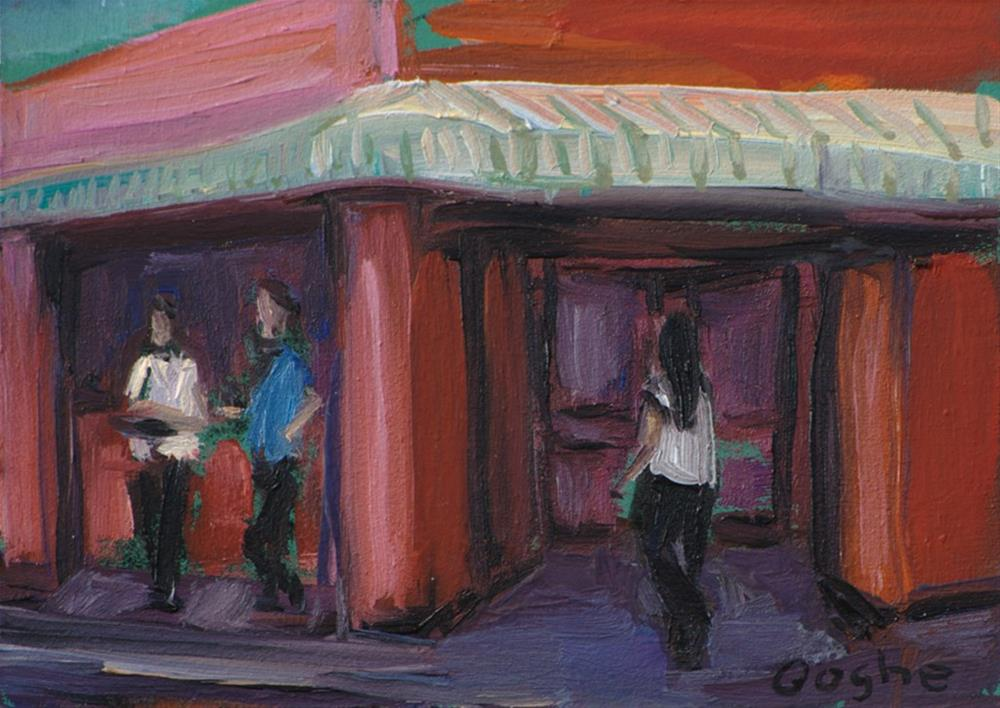 """Little Havana Bodega"" original fine art by Angela Ooghe"