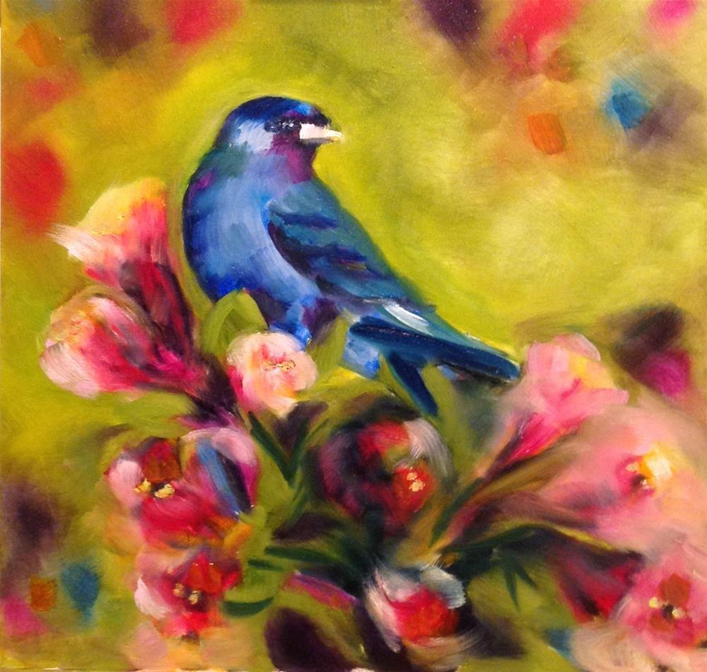 """""""Framed Hacienda"""" original fine art by Molly Rohrscheib Hathaway"""