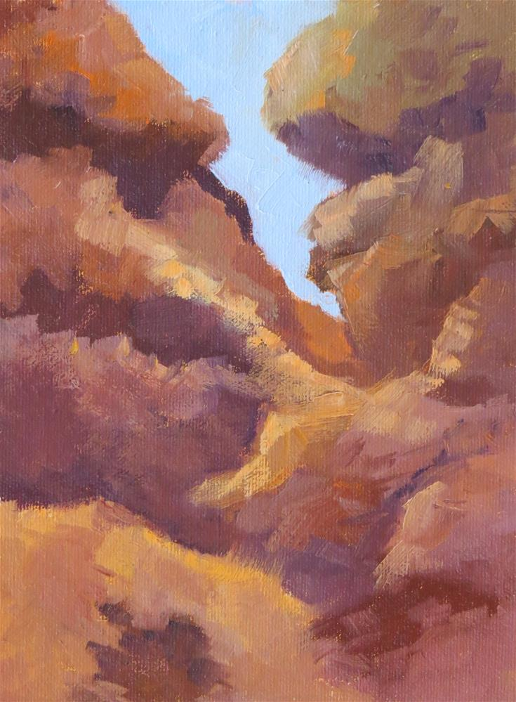 """""""Rock Of Ages"""" original fine art by Pam Holnback"""