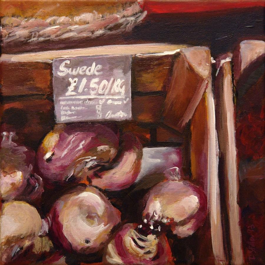 """0562 Swede"" original fine art by Dietmar Stiller"