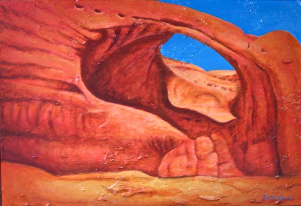 """Arch of the Canyon"" original fine art by Karen Roncari"