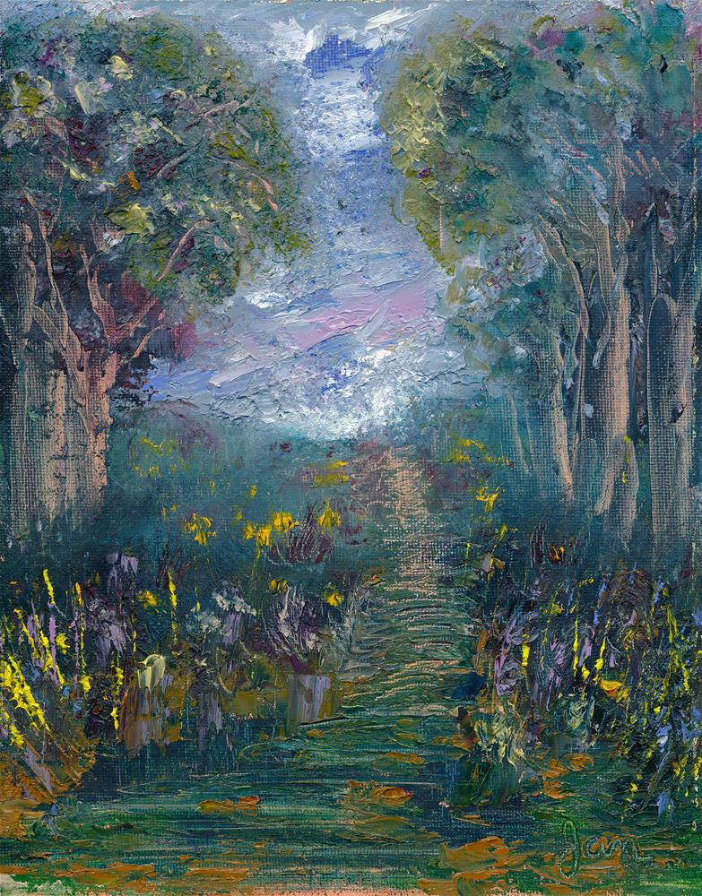 """Seneca Light"" original fine art by Janet Gunderson"