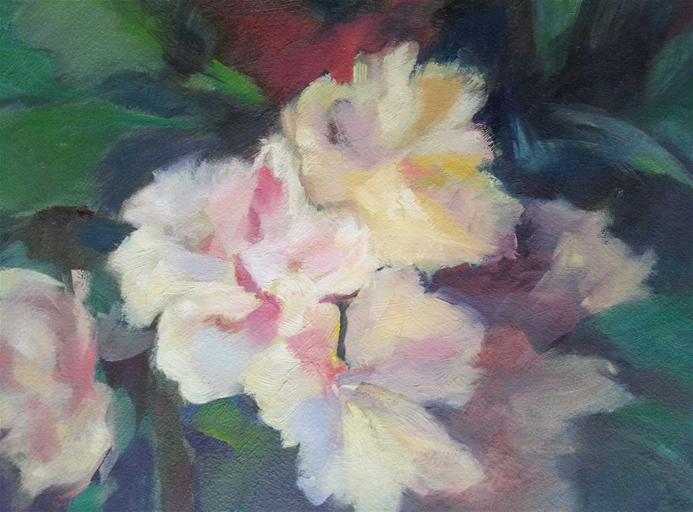 """Peonies"" original fine art by Olga Touboltseva-Lefort"