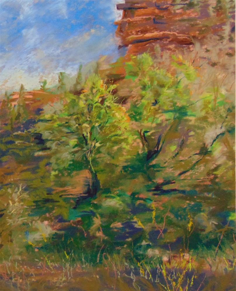 """Colorado Outcropping"" original fine art by Catherine Kauffman"