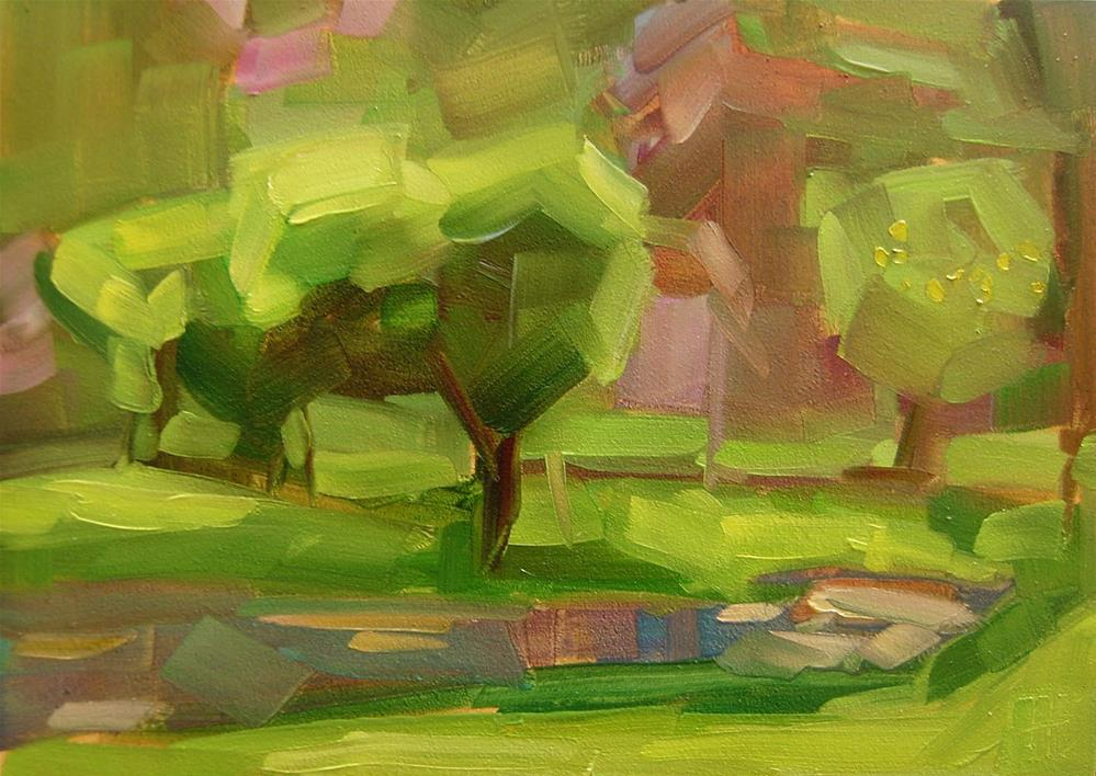 """""""Summer Light"""" original fine art by Holly Storlie"""