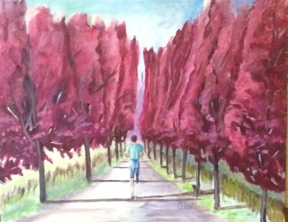 """Morning run"" original fine art by Beau Crump"