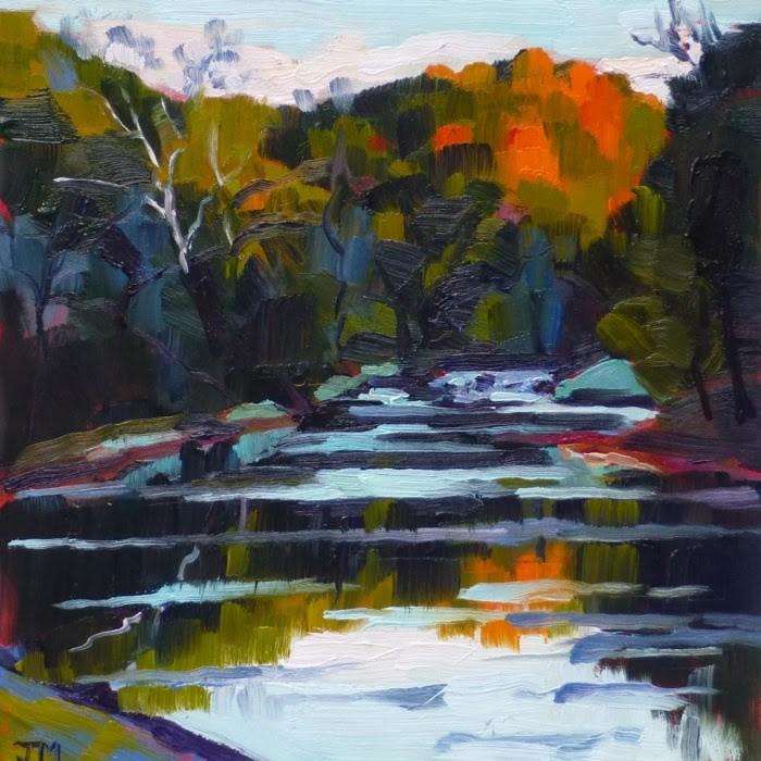 """Black Rock Park No. 3"" original fine art by Jessica Miller"