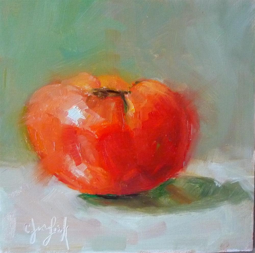 """Salsa"" original fine art by Carol Josefiak"