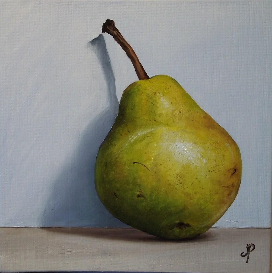 """""""Pear shadow"""" original fine art by Jane Palmer"""