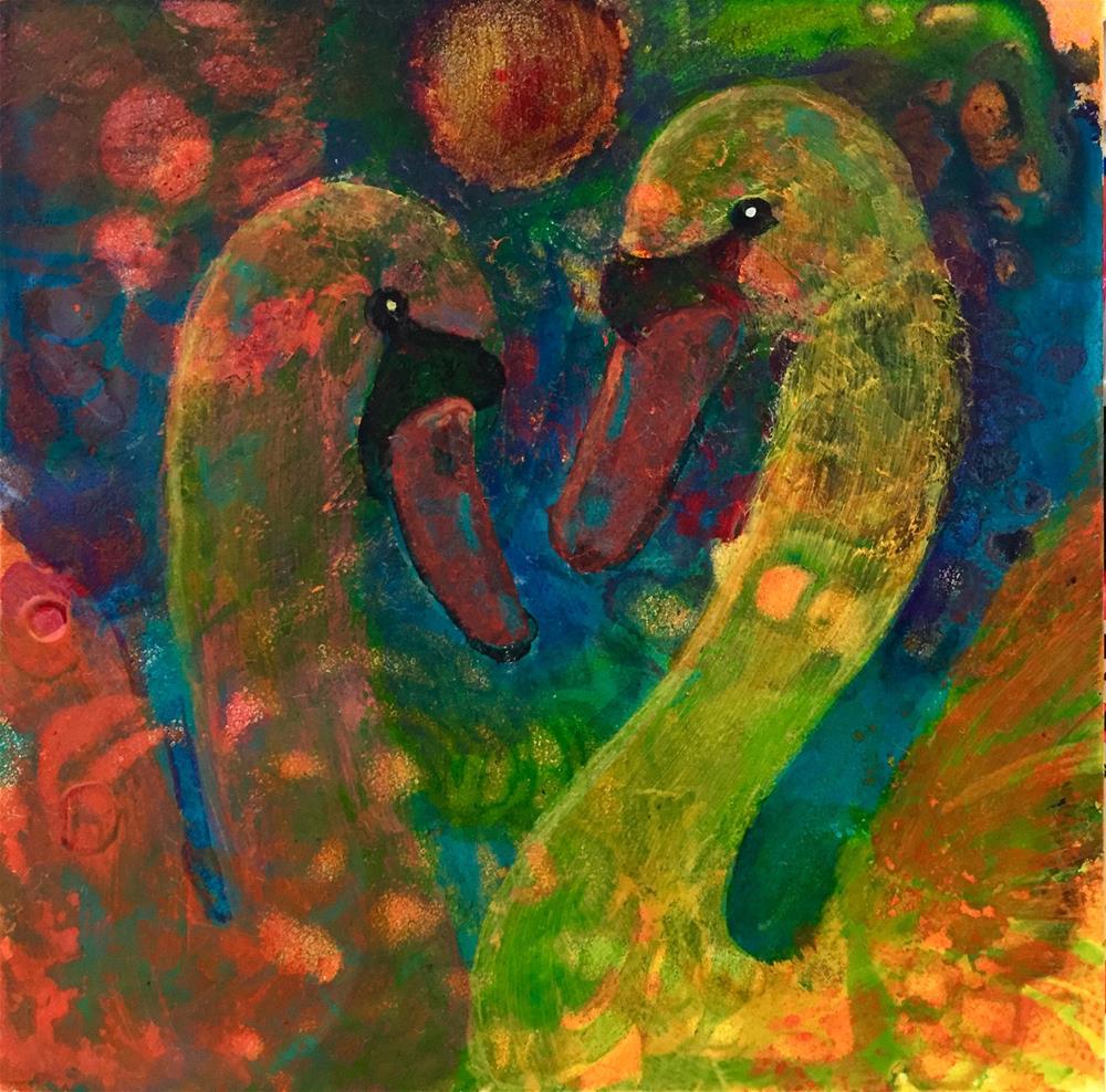 """#23 Forever"" original fine art by Silke Powers"