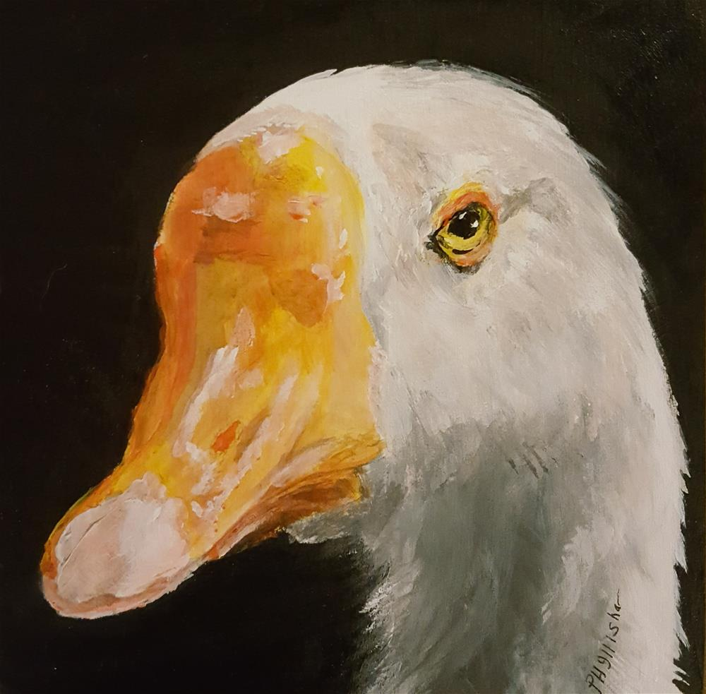 """Mother Goose"" original fine art by Phyllisha Hamrick"