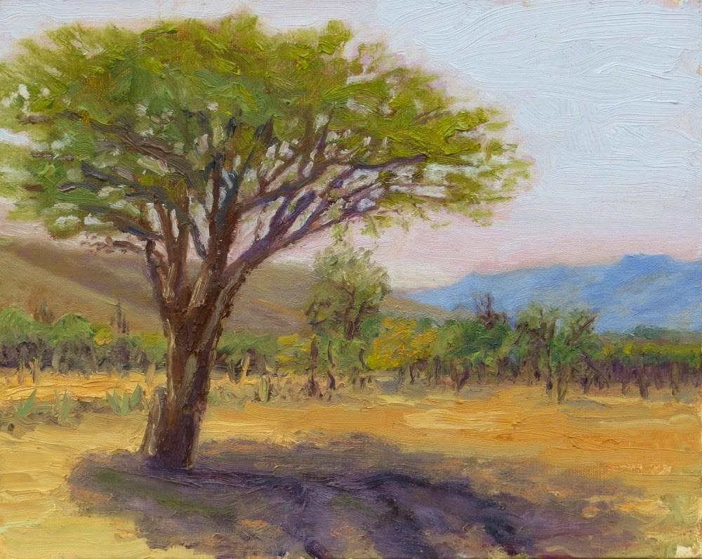 """Sun Block"" original fine art by Richard Kiehn"