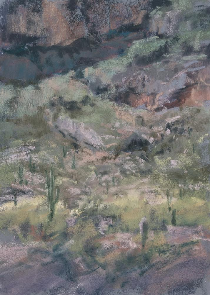 """Picachio Saguaro"" original fine art by Marsha Savage"