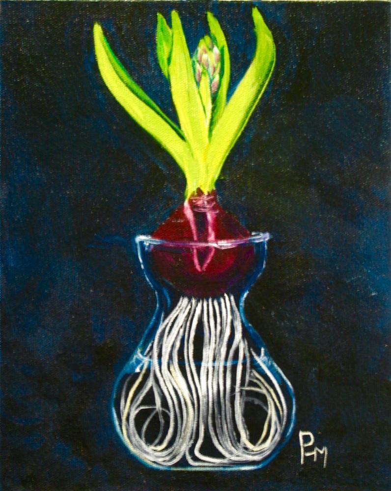 """New Beginnings"" original fine art by Patricia Murray"