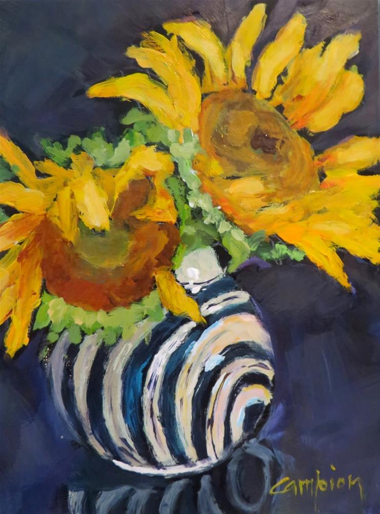 """685 Lingering"" original fine art by Diane Campion"
