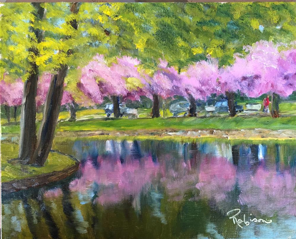 """Reflections:  30 of 30!!"" original fine art by Renee Robison"